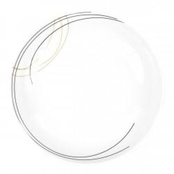 Assiette calotte 22 cm Aubépine en porcelaine