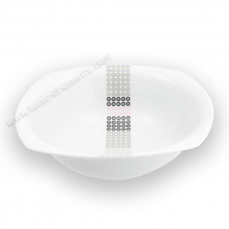 Saladier 26 cm Sparaxis en porcelaine