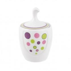 Sucrier 250 ml Bulle pastel en porcelaine