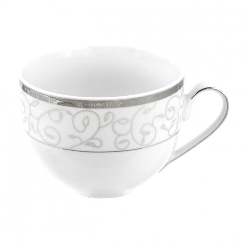 tasse petit d jeuner 450 ml jardin secret en porcelaine. Black Bedroom Furniture Sets. Home Design Ideas