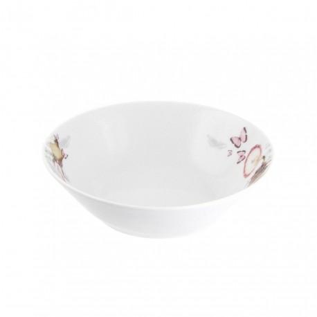 Bol / Coupelle 15 cm Symphonie des Papillons en porcelaine