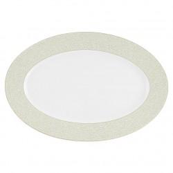 Plat ovale 36 cm En Chemin en porcelaine