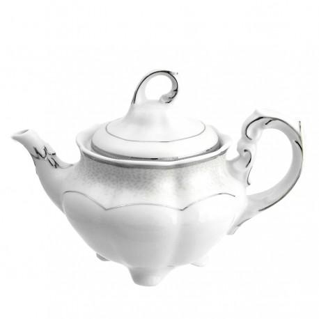 Théière 1100 ml en porcelaine - Idylle dans l'olivaie