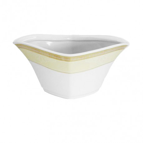 Saucière 500 ml en porcelaine, service de vaisselle en porcelaine