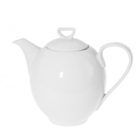 Cafetière 1200 ml avec couvercle Révérence Nivéenne en porcelaine