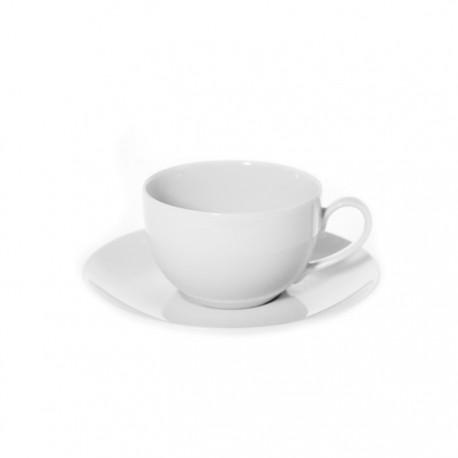 Tasse à café 100 ml avec soucoupe Révérence Nivéenne??? en porcelaine