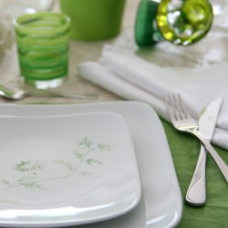 Service de table 18 pces Solanum en porcelaine