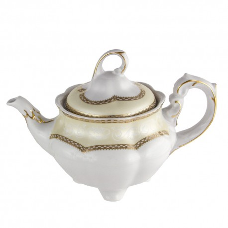 Théière 1100 ml en porcelaine Impression Chatoyante