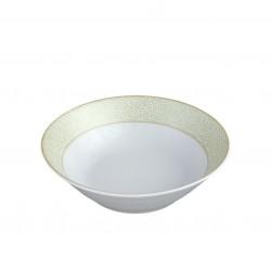 Bol 500 ml En chemin, service de vaisselle complet en porcelaine blanc pour utilisation quotidienne