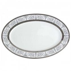 Plat ovale 36 cm Palais Royal en porcelaine