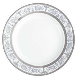 Plat creux rond à aile 29 cm Palais Royal en porcelaine