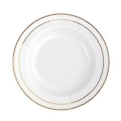 Assiette creuse à aile 22 cm Bohémienne en porcelaine