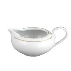 Saucière 550 ml en porcelaine Bohémienne