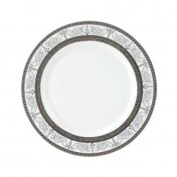Assiette plate ronde à aile 17 cm Palais Royal en porcelaine