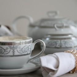 Service à thé en porcelaine Palais Royal