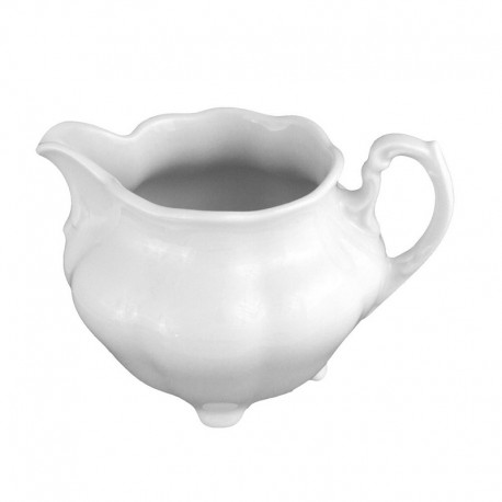 service de table complet, vaisselle en porcelaine blanche, crémier 350 ml, art de la table