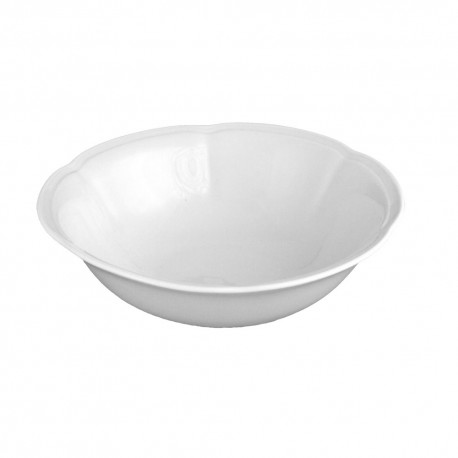 service de table complet, vaisselle en porcelaine blanche, bol, coupelle, saladier rond 17 cm, art de la table