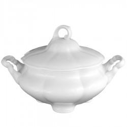 service de table complet, vaisselle en porcelaine blanche, soupière 2800 ml, art de la table