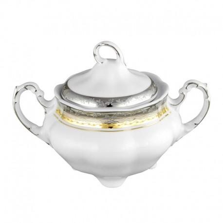 service de table complet, vaisselle en porcelaine, Sucrier 300 ml avec couvercle, art de la table