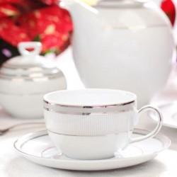 Service à café en porcelaine Plaisir Enchanté
