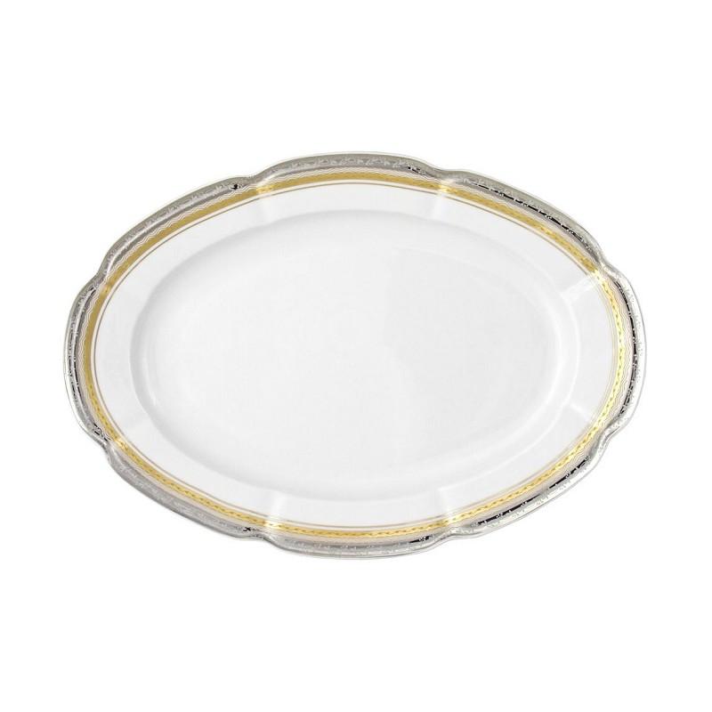 Tasse assiette plat ovale 33 cm en porcelaine onirique - Art de la table vaisselle ...