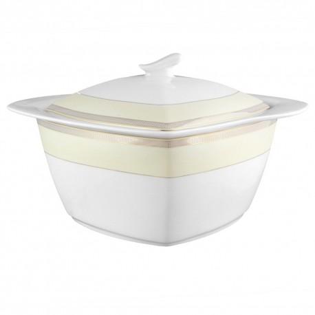 art de la table, service de table complet, vaisselle en porcelaine, soupière 3 litres Elégance en porcelaine