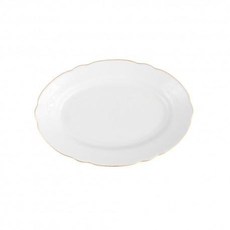 Ravier 23 cm en porcelaine Gracieuse Innocence, ravier, petit plat porcelaine