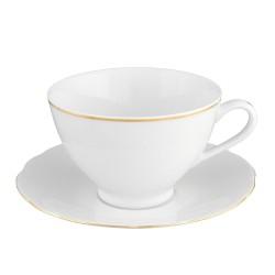 Tasse à thé 330 ml avec sa soucoupe Gracieuse Innocence