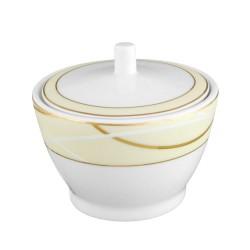 Sucrier 250 ml Ornelia en porcelaine
