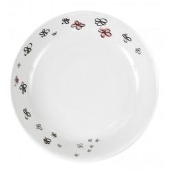 Assiette creuse 19 cm Dessines moi une petite fille en porcelaine