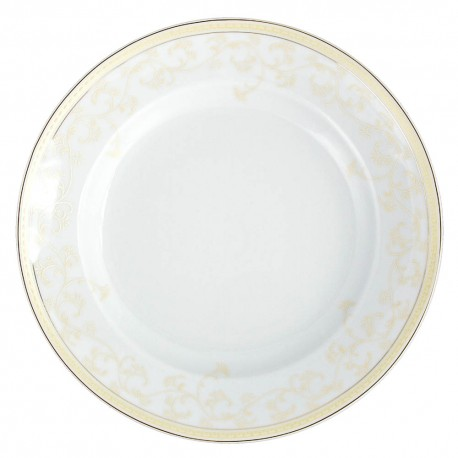 Plat creux rond à aile 29 cm Douce Nostalgie en porcelaine, art de la table porcelaine,