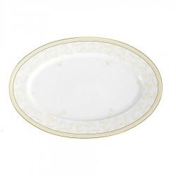 Plat ovale 33 cm en porcelaine Douce Nostalgie
