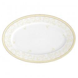 Plat ovale 36 cm en porcelaine Douce Nostalgie, art de la table et porcelaine
