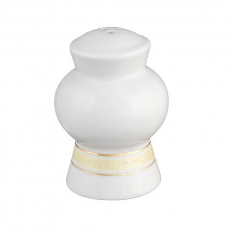 Poivrier Douce Nostalgie en porcelaine, poivrier avec liséré or, élégant, luxe art de la table