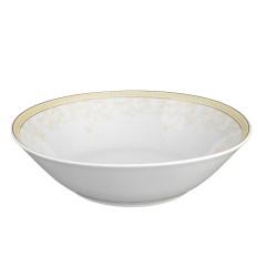 Saladier rond 23 cm en porcelaine Douce Nostalgie