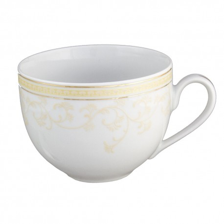 Tasse petit déjeuner 450 ml en porcelaine Douce Nostalgie, tasse petit dejeuner luxe