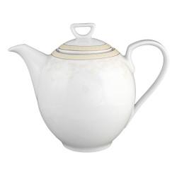 Cafetière 1300 ml avec couvercle en porcelaine Douce Nostalgie