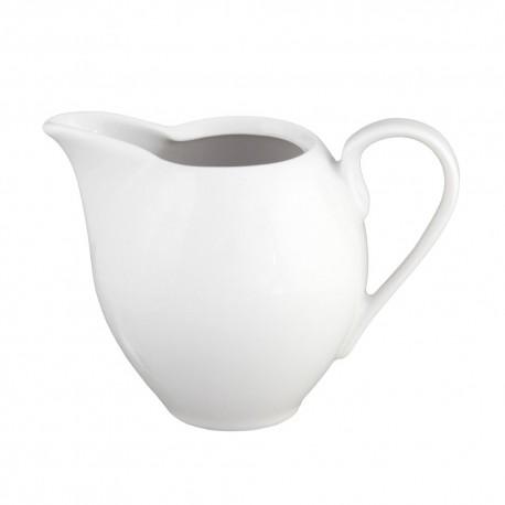 Crémier 200 ml en porcelaine blanche Révérence Nivéenne