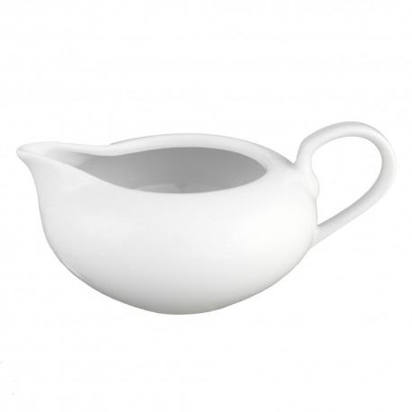 Saucière 550 ml en porcelaine Révérence Nivéenne