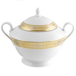Soupiere 2800 ml Ruban Impérial en porcelaine