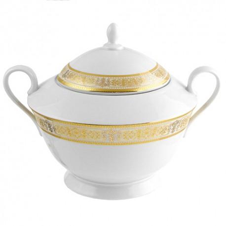 Belle Soupière en porcelaine de 2800 ml Ruban Impérial