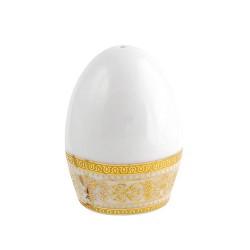 Mignon Poivrier Ruban Impérial en porcelaine avec décoration or