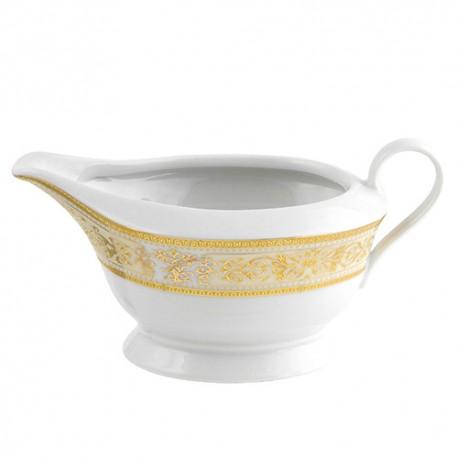 Saucière 450 ml Ruban Impérial en porcelaine