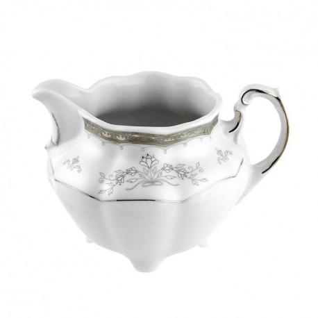 Crémier 350 ml en porcelaine - Abondance Platinique