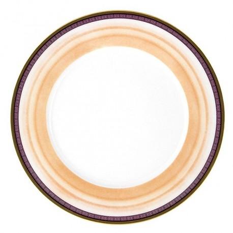 Assiette à aile plate ronde 27 cm Désir en porcelaine