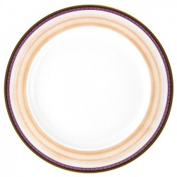 Plat à aile rond 32 cm Désir en porcelaine