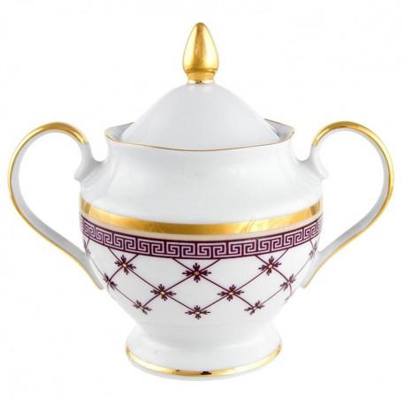 Sucrier 250 ml en porcelaine Désir galon or