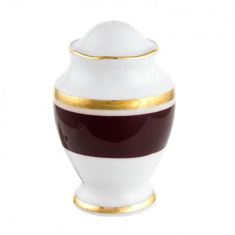 Poivrier Désir en porcelaine galon or
