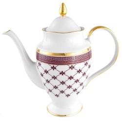 Cafetière 1200 ml en porcelaine Désir