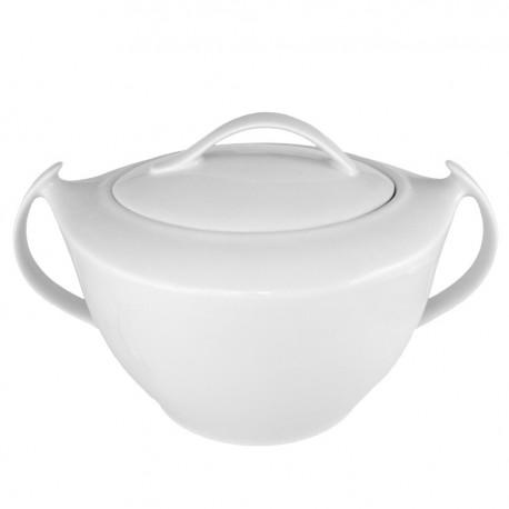 art de la table, service de table complet, vaisselle en porcelaine, soupière Philadelphia 3 litres en porcelaine